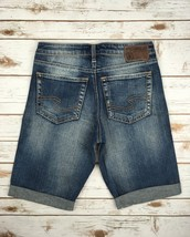 Silver J EAN S Shorts High Rise Waisted Anniversary Frisco Denim Jean Short 28, 29 - $17.85