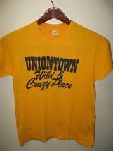Uniontown Wild & Crazy Posto USA Vintage 600ms Hanes Sottile T Shirt M / Lg - $39.59