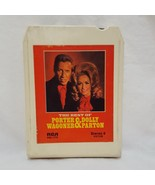 The Best of Porter Wagoner Dolly Parton 8 track Cartridge RCA P8S 1770 - $9.99