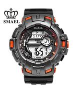 SMAEL Men's sport, digital, 50M waterproof, outdoor sports wristwatch.M-... - $19.99