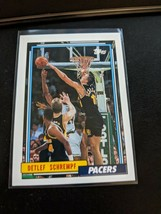 1992-93 Topps Basketball Pack Fresh Mint Detlef Schrempf Indiana Pacers - $5.99