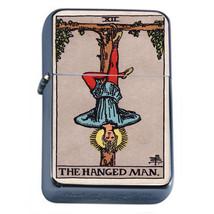 Tarot Card D13 Windproof Dual Flame Torch Lighter XII The Hanged Man - $12.82