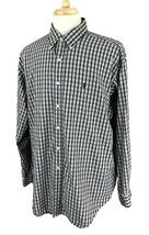 Ralph Lauren Polo Men's Blake Shirt Black Red Check Size XL - $29.69