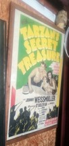 TARZAN'S SECRET TREASURE ORIGINAL VINTAGE MOVIE POSTER 1 SHEET D - $692.01