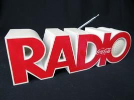 RARE & VINTAGE Coca Cola Transistor Radio 1980's letters 20-1 Isis - $74.79