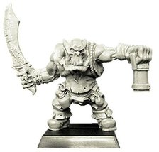 Spellcrow 28mm Fantasy Miniatures: Orc with Sabre and Lantern