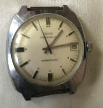 Vintage Bulova Caravelle Transistorized Watch w/ Date 1974 - $39.17