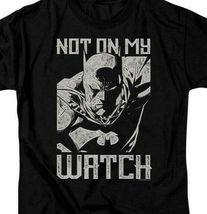 Batman t-shirt DC Comics superhero Not on my Watch graphic tee BM2866 image 3