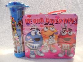 2001 M&M's Minis Galerie Valentine Suitcase Tin Container Sealed - $3.95