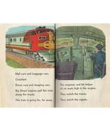 Fast Trains! Busy Trains by Jene Barr Chauncey Maltman 1959 Vintage Hard... - $12.86