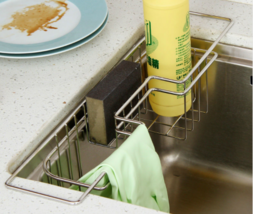 Kitchen Stainless Tray Dish Drainer Drying Rack Sink Holder Home Accesso... - $34.82