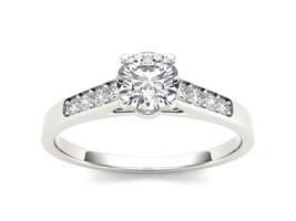 IGI Certified 14K White Gold 0.50 Ct Diamond Clssic Solitaire Engagement... - $577.99