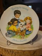 "6 Mothers Day AVON Mini Porcelain Collectors 5"" Plates 1989-1996 - $60.00"