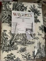 "Waverly Charmed Life Onyx / Black Window Panel  (1 panel)  63"" L Toile - $17.09"