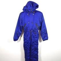 Vtg Nils Skiwear Snowsuit One Piece Jumper Women's 10 Made in USA Nylon ... - $50.00