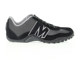Sneakers MERRELL 0023 in black leather - Men's Shoes - $150.93