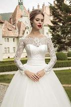 Luxury Wedding Bridal Ball Gown Sweetheart Neckline Lace Up image 2