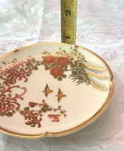 Vintage Soho china Satsuma Hand Painted Ashtray image 1
