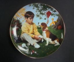 Danbury Mint Children of the Week Wednesday's Child Plate w/box, no COA - $8.99