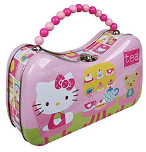 Hello Kitty Tea Time Tin Box Purse - $13.90