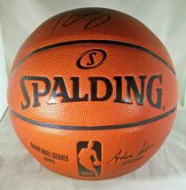 BEN SIMMONS / PHILADELPHIA 76ERS / AUTOGRAPHED FULL SIZE NBA BASKETBALL / COA image 3