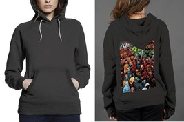Classic Hoodie Black women Super Hero Marvel - $28.99