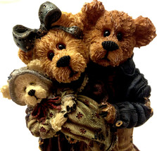 Boyds Bears #227731 FIRST EDITION Momma & Poppa McNewBear with Baby Bund... - $16.96
