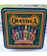 Crayola Crayon Collector Tin, 1903-1993, Empty,, 90th anniversary Tin - $5.93