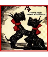 Scottie Dogs Vintage Christmas Images on CD - £11.47 GBP