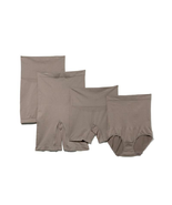 Yummie by Heather Thompson 4pk Shaping Bottoms in Mink, Size M/L - $21.77