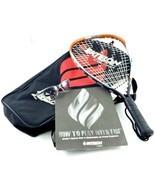 Ektelon Powerfan Energy Longbody Racquetball Titanium Alloy Racket w Acc... - £21.62 GBP
