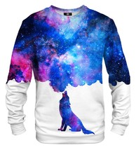 Howling Galaxy Cotton Printed Sweatshirt | Unisex | XS-2XL | Mr.Gugu & Miss Go
