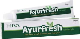 Jiva Ayurfresh Toothpaste Pack of 3 100 gm - $30.68