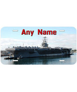 Aircraft Carrier Any Name Personalized Aluminum Tag Novelty License Plate - $14.80