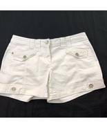 White House Black Market Womens Shorts Button Detal Flap Pockets 4 S - $19.80