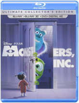 Disney Monsters, Inc. (Ultimate Collector's Edition) (Blu-ray 3D/Blu-ray/DVD)