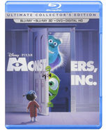Disney Monsters, Inc. (Ultimate Collector's Edition) (Blu-ray 3D/Blu-ray... - $21.95