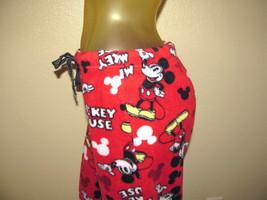 Women's Mickey Mouse Pajama Bottoms Size S (3/5) Disney Sleepwear Super ... - $14.24