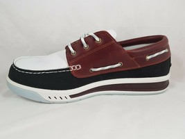 NIB TIMBERLAND MEN'S CRUISE MAST CASUAL RUBBER CLASSIC SHOES LEATHER BRO... - $59.99