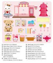 Konggi Rabbit Fancy Gift Doll Stationery Shop Store Dollhouse Roleplay Playset image 3