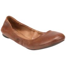 Lucky Brand Womens Emmie Ballet Flat Cognac 6.5 Wide #NA9DW-M602 - $49.99