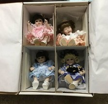 Marie Osmond Tiny Tots Box Of 4  Olive May & Friends Alexis Ashley Baby ... - $75.00