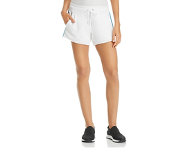 Calvin Klein Performance Womens Large White Ombre Stripe Fitness Shorts NEW - $24.99