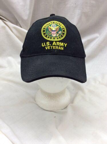 trucker hat baseball Cap US ARMY VETERAN United States Vintage USA Eagle Crest