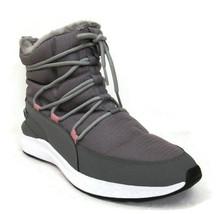 PUMA Adela Winter Puretex Women's Gray Faux-Fur Waterproof Boots #37226202 - $56.99