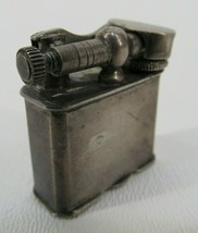 Vintage Antique STERLING SILVER Mexican Mexico Lift Arm Cigarette Lighter  - $130.89