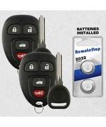 2 For 2006 2007 Chevrolet Monte Carlo Keyless Entry Car Remote Fob + Key - $19.77