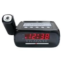 Supersonic SC-371 Digital Projection Alarm Clock with AM/FM Radio - $33.17