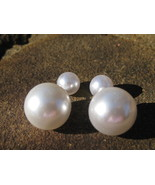 Haunted Jackie O Socialite RICHES WEALTH AND status pearl spell cast ear... - $15.00