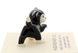 Hagen-Renaker Miniature Ceramic Cat Figurine Black and White Tuxedo Cat Set image 8